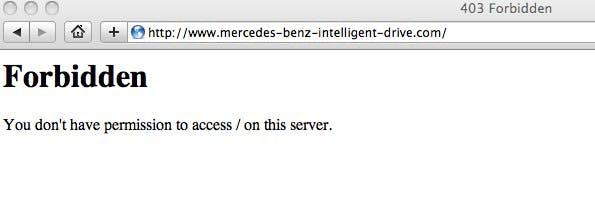 Webspecial Mercedes: Forbidden