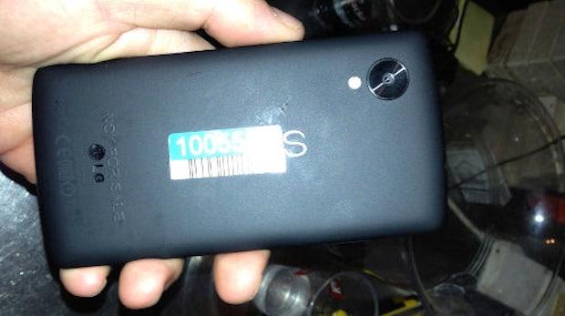 Nexus 5: Erste Bilder und Videos zeigen neues Google-Smartphone