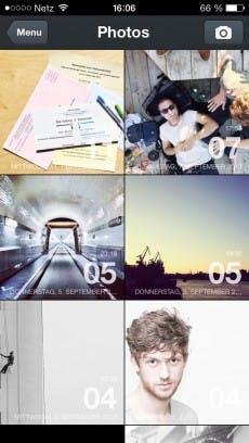 Mit Slogger füllt sich das digitale Tagebuch schnell mit Inhalten aus Instagram, Facebook und Co.