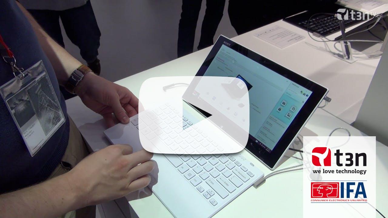 Sony Vaio Tap 11: Schicker und leistungsfähiger als das Microsoft Surface [IFA 2013]