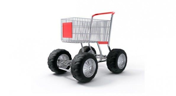 Weg von den Verkaufskanälen - Der Einkaufswagen steht jetzt überall? (Foto: © LoopAll - Fotolia.com)