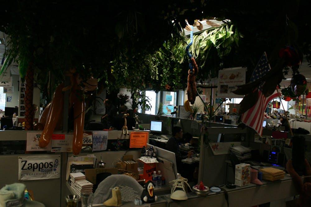 """Zappos: Das absolute Gegenteil eines """"stylischen Office""""."""