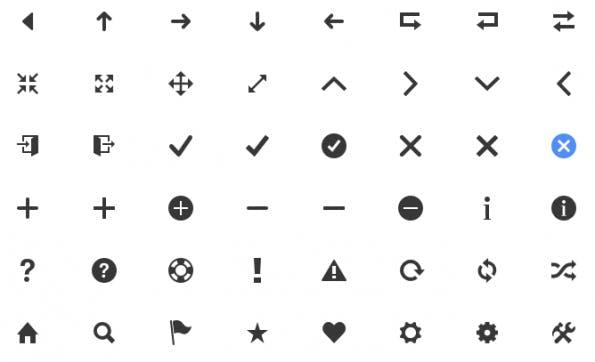 Kostenloses Icon-Set: Tolles Lesezeichen für Grafiker.