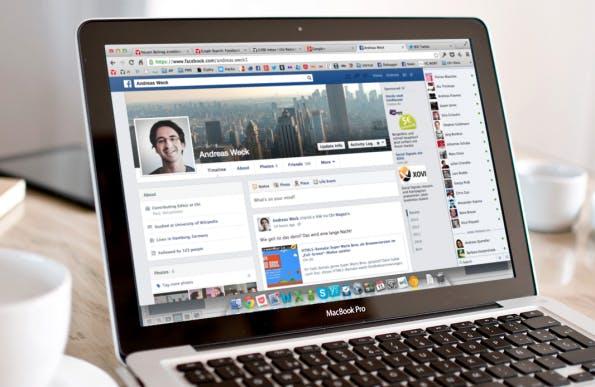 Graph Search: Neue Privatsphäre-Einstellungen machen das Profil für jeden in der Facebook-Suche sichtbar. (Bild: Facebook Andreas Weck / Placelt by Breezi)