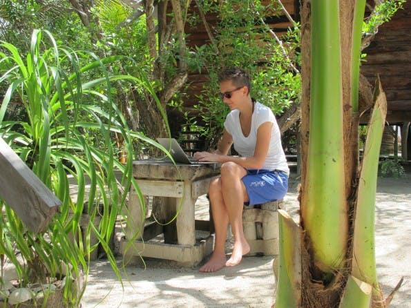 Conni lebt und arbeitet eigentlich überall auf der Welt. (Foto: privat)