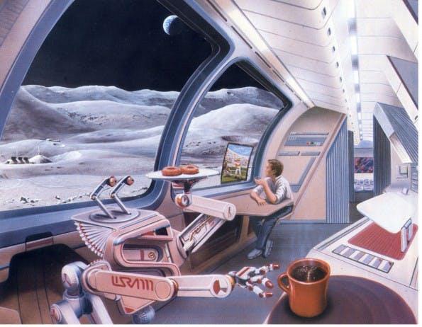 PayPal Galactic: Eine Initiativen von PayPal und dem SETI Institut erforscht interplanetare Zahlungsmöglichkeiten. (Bild: Paypal/ Pat Rawlings und J.Spencer)