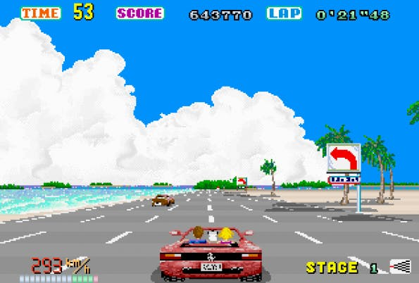 Retro-Game: Out Run