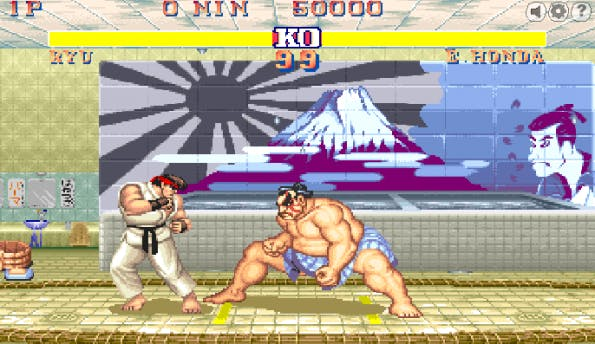Retro-Game: Street Fighter 2