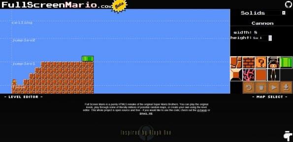 Wer kreativ sein will, kann im Super-Mario-Bros.-Remake auch eigene Welten bauen.