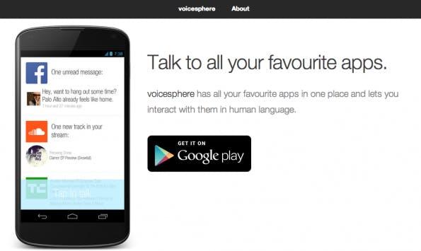 TechCrunch-Disrupt-Finalist: Voicesphere