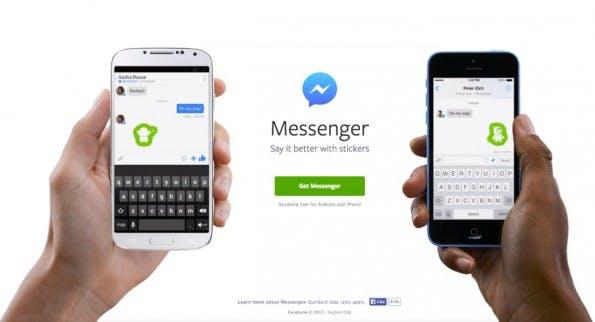 Der neue Facebook-Messenger in Version 3.0 ist ab heute für Android und iOS erhältlich. (Screenshot: facebook.com)