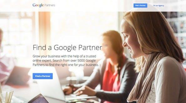 Google Partners: Auf dieser Seite können Unternehmen eine Webagentur finden. (Screenshot: Google)