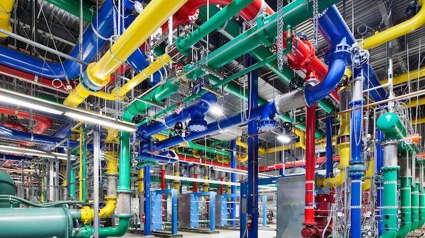 Groß, bunt, beeindruckend – So sehen Googles Rechenzentren aus