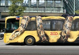 Guerilla-Marketing des Kopenhagener Zoos