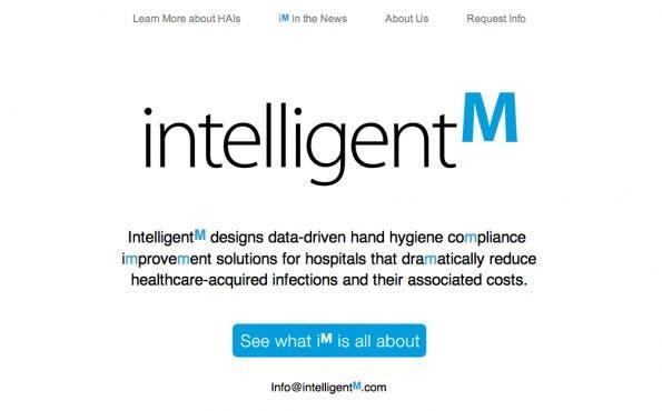 Mangelnde Hygiene verursacht in Krankenhäusern Kosten in Höhe von 10 Millionen US-Dollar pro Jahr. Ein Armband von IntelligentM erinnert Ärzte ans richtige Händewaschen. (Screenshot: IntelligentM)