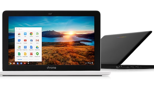 HP Chromebook 11: Tablet-Hardware in Notebook-Form