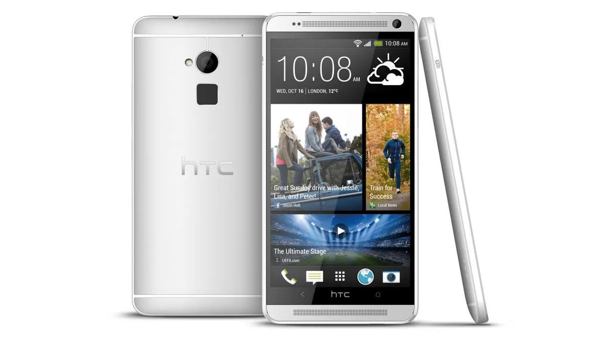 HTC One Max: Phablet mit Fingerabdruckscanner