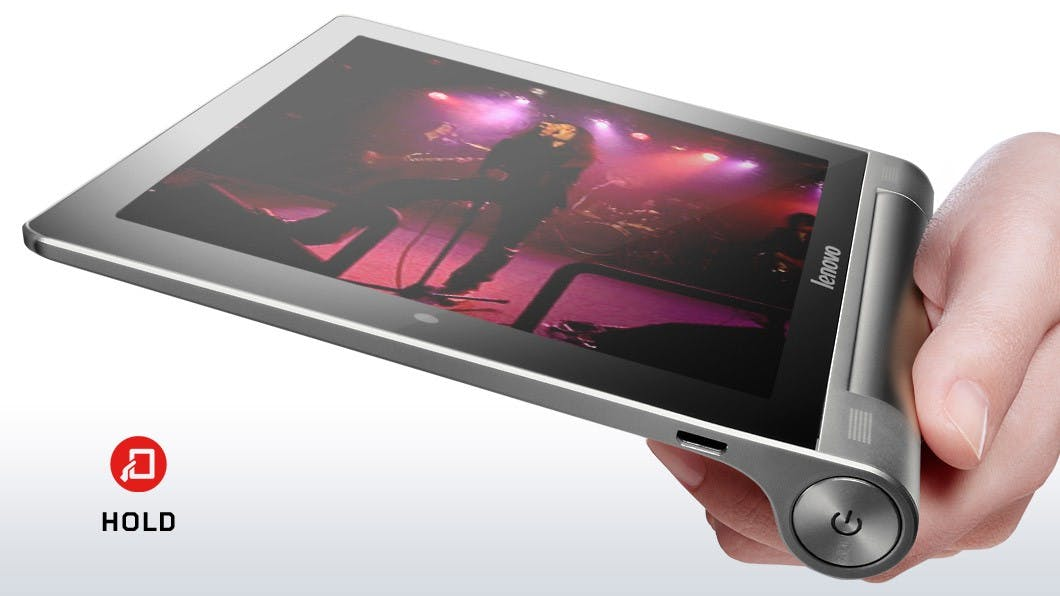 Lenovo-Yoga-Tablet: Extravagante 8- und 10-Zoll-Tablets zum Kampfpreis