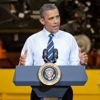 Ausschnitt aus dem kompletten Bild, der Obama in der Nahaufnahme zeigt.