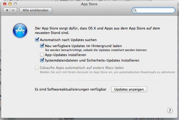 Automatische Updates sind nett, können aber auch deaktiviert werden.
