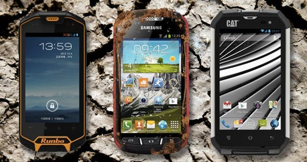 Outdoor-Smartphones: 7 Begleiter für den Einsatz im Freien