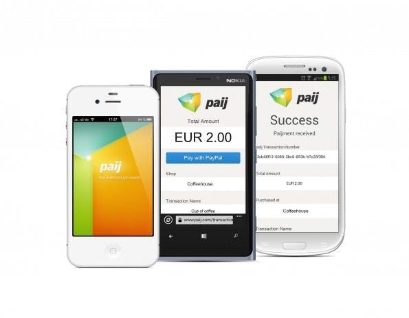 Paij lässt euch demnächst Taxifahrten mit dem Smartphone bezahlen. Das soll natürlich nur der Anfang sein. (Bild: Paij)