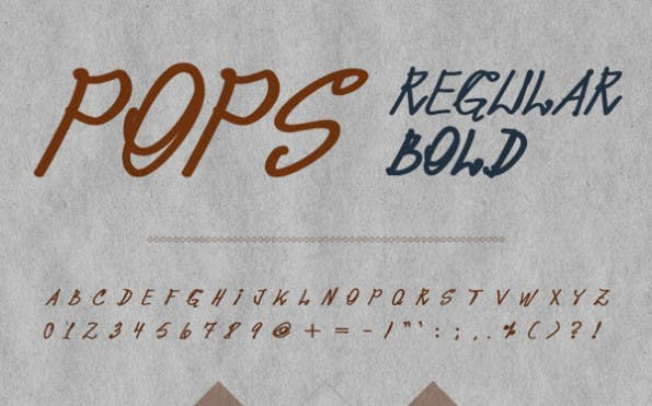 pops-handschrift-font