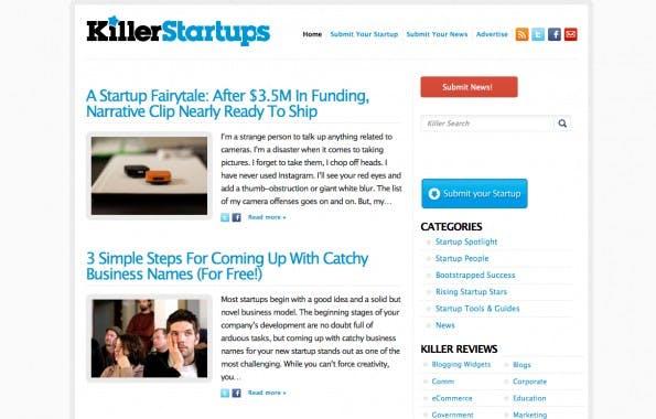 Killer Startups bietet ein Stufen-Modell für Startups an. Für 167 Dollar gibt es den Artikel in 48 Stunden. Zahlt man nichts, wartet man bis zu sechs Monate. (Screenshot: Killer Startups)