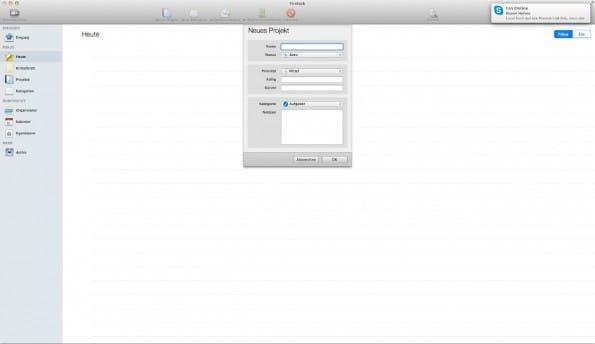 Firetask – eine To-Do-Software aus Österreich. (Screenshot: Firetask)