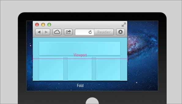 Das Fenster des Browsers, ist im Gegensatz zum Blatt Papier, flexibel.