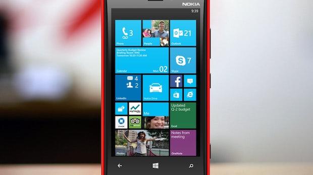 Windows Phone 8.1: Geleaktes Foto zeigt Benachrichtigungszentrale