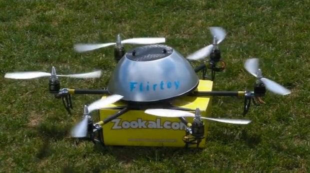 Zookal startet weltweit ersten kommerziellen Drohnen-Liefer-Service
