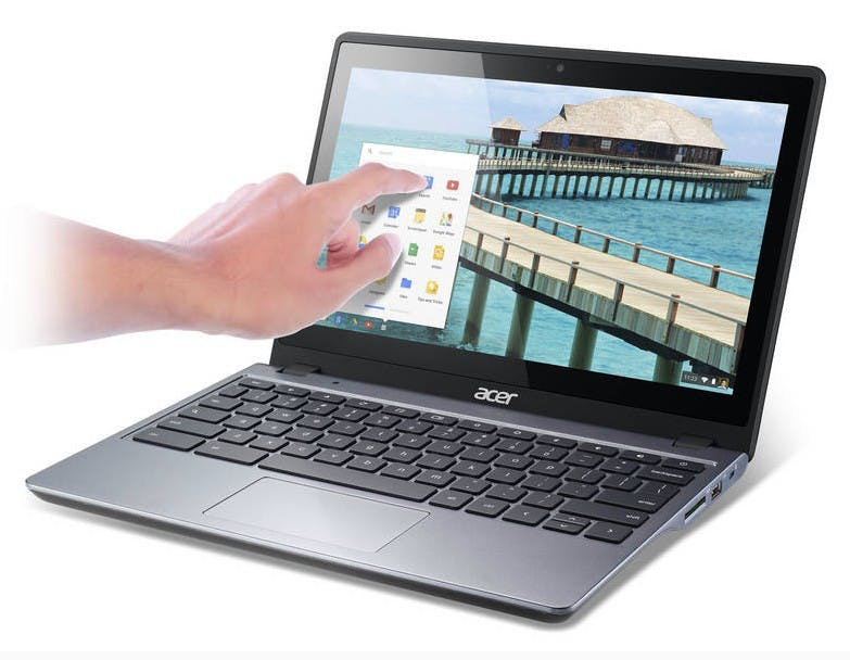 Acer C720P: Neues Touchscreen-Chromebook mit starkem Haswell-Prozessor