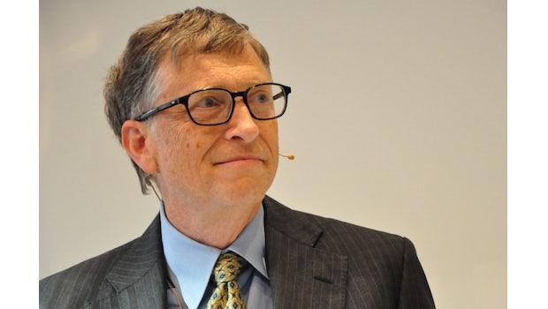 Bill Gates lud nach Berlin ein. (Foto: Florian Blaschke)