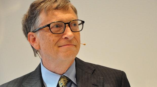 """Bill Gates in Berlin: """"In meiner Jugend habe ich von künstlicher Intelligenz und schlauer Software geträumt"""""""