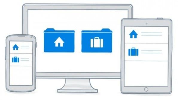 Dropbox hilft Dateien zwischen mehreren Personen und Geräten zu verschicken. (Grafik: Dropbox)