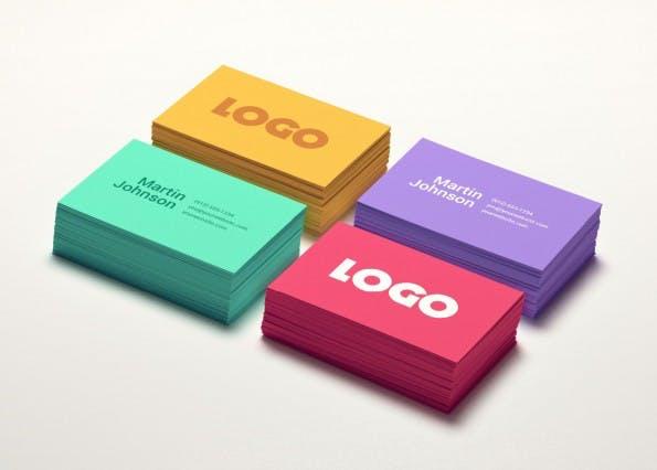 Kostenlose PSD-Templates für deine Visitenkarten. Zum Download