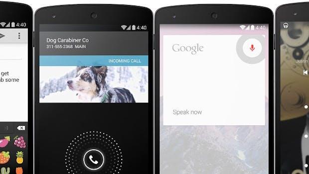 Android 4.4 KitKat bringt einige neue Funktionen mit. (Bilder: Google)