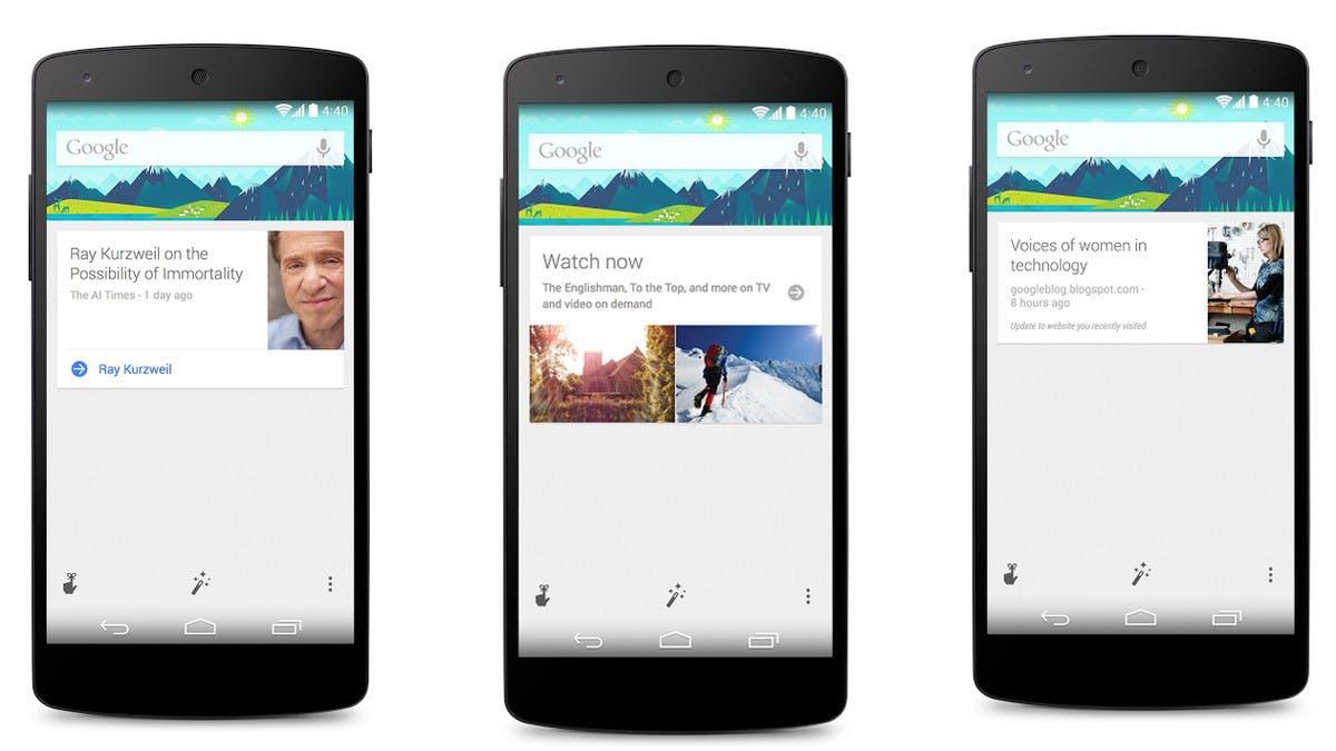 Schotten auf bei Google Now: Die besten Karten der 70 neuen Partner im Überblick