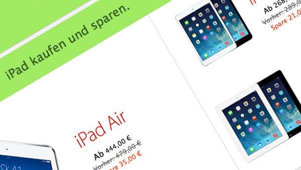 Black Friday bei Apple: Rabatte auf iPad, Macbook, iPod und Zubehör