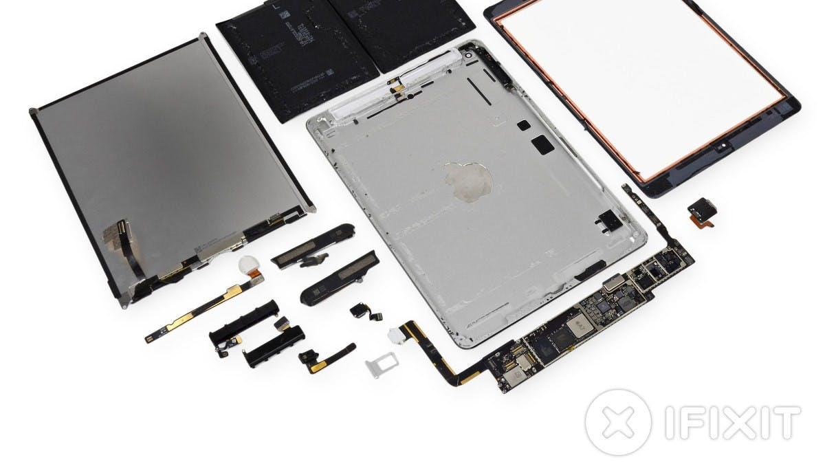 iPad Air von innen – iFixit zerlegt neues Apple-Tablet