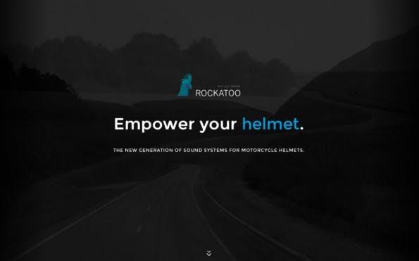 Rockatoo tüftelt an einem Motorradhelm, der neben dem Schutz auch ein komfortables Soundsystem liefern soll. (Screenshot: Rockatoo)
