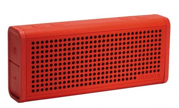 The Blaster von Nixon ist ein Bluetooth-Speaker, der sich besonders an Outdoor-Fans richtet. (Bild: Nixon).