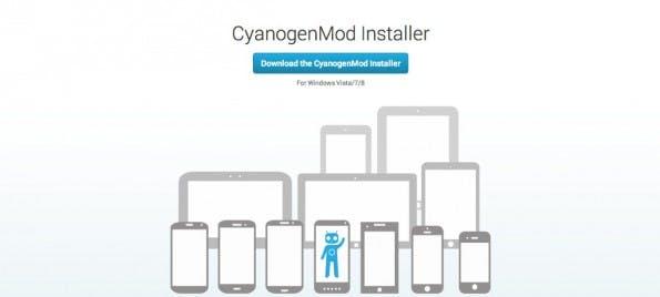 Installer erleichtert den Einsatz von CyanogenMod. (Screenshot: CyanogenMod)