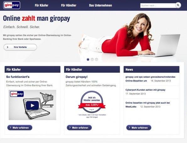 Giropay Teilnehmende Banken