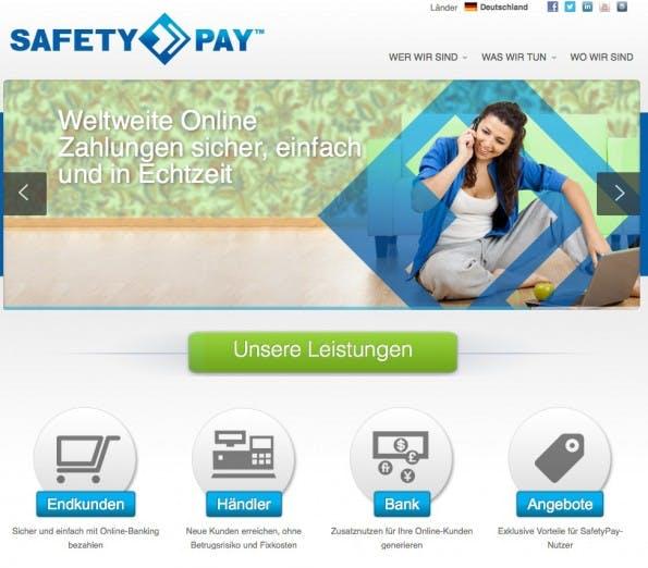 (Screenshot: Safetypay)