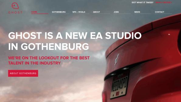 Screenshot: Ghost Studio