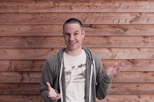 Dominik Tobschall hat fruux 2007 als Hobbyprojekt gegründet. (Foto: Uwe Sülflohn)