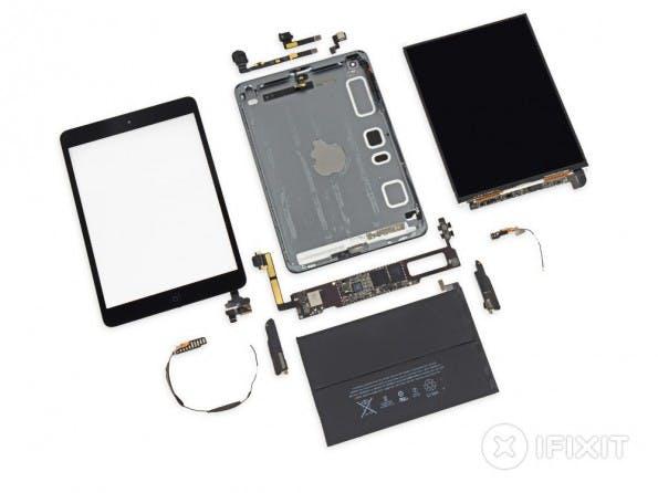 iFixit hat das iPad Mini mit Retina-Display zerlegt. (Bild: iFixit)