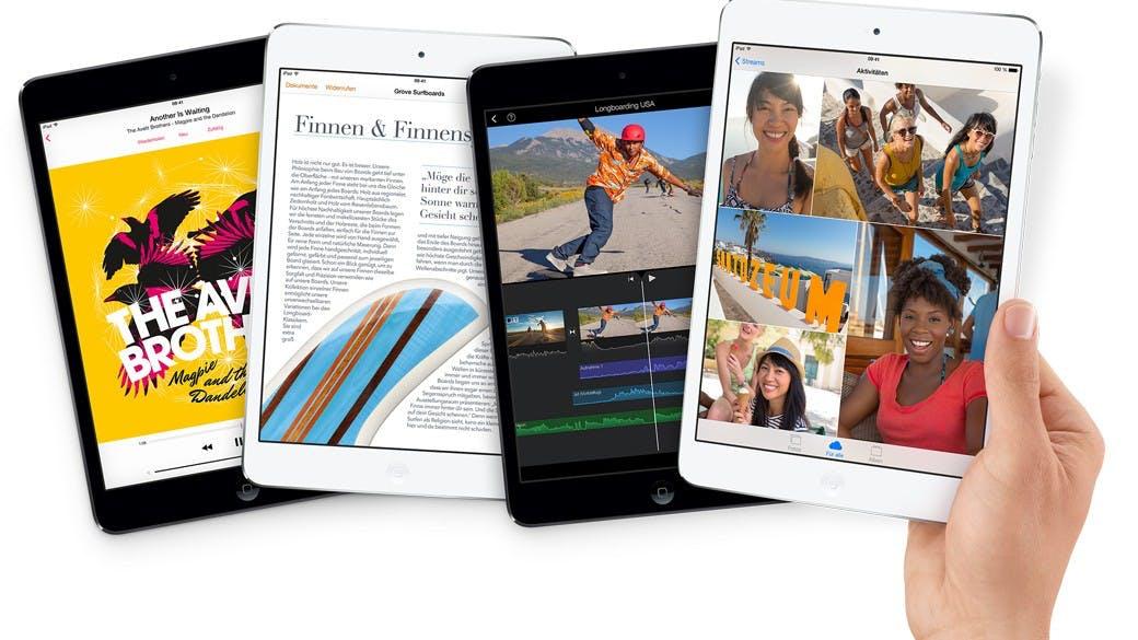 iPad mini mit Retina-Display: Jetzt verfügbar im Apple-Store